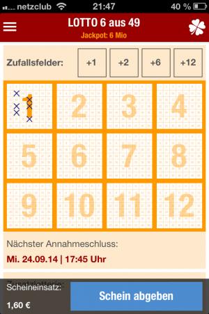 Online Lotto Test